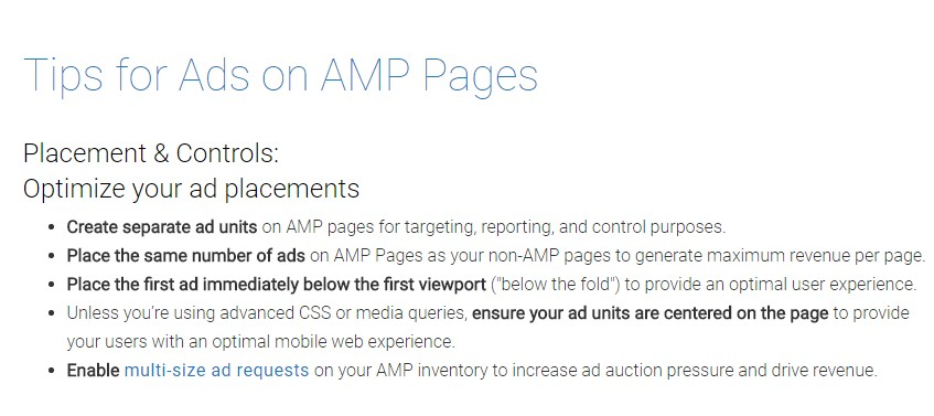 AMP Adds -  main  information